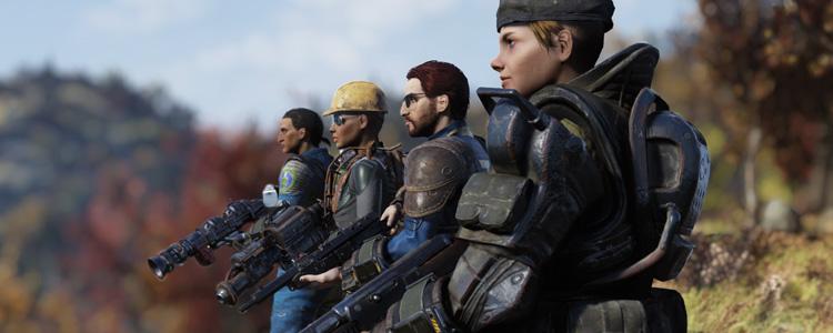 Новая функция «Публичные команды» в Fallout 76 должна будет упростить взаимодействие игроков